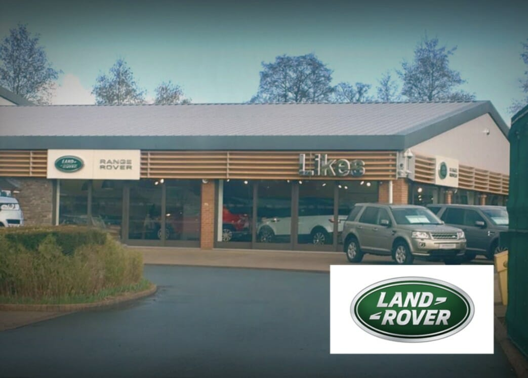 Likes Land Rover Showroom, Hay-on-Wye