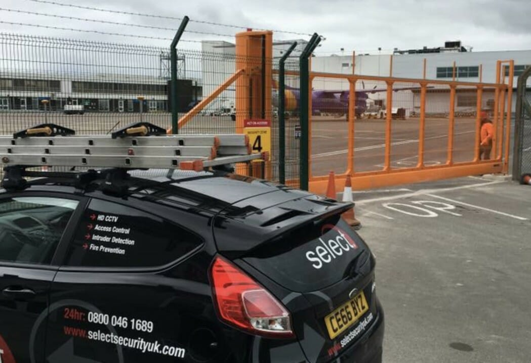 Cardiff Airport: Automated Gate and Access Control, Vale of Glamorgan, Wales
