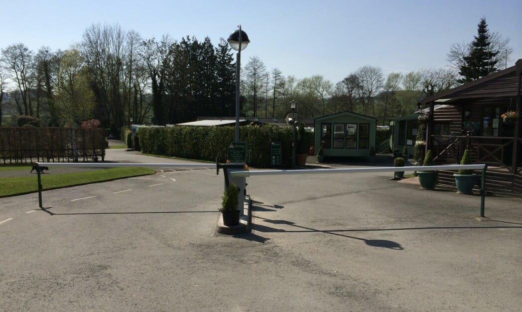 Poston Mill Country Holiday Park, Auto Barrier System, Hereford