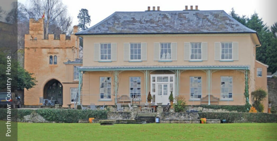 Fire Alarm For Grade II Listed Regency Hotel / Country House
