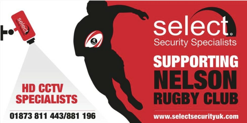 Select Security Sponsors Nelson RFC