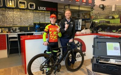 Select Security sponsors future cycling superstar