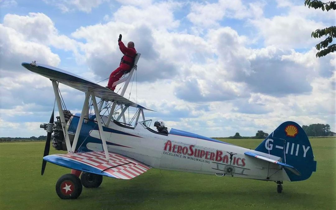 Select Security Sponsor Client's Wing Walking